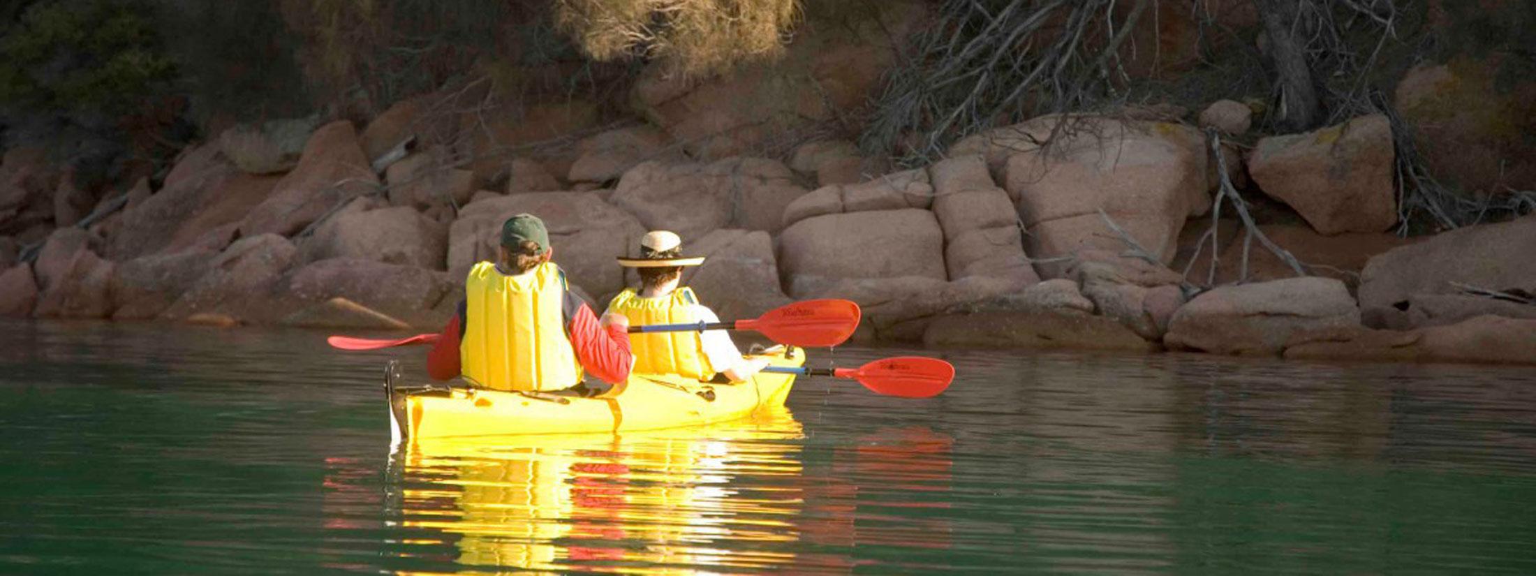 kayak rentals Tasmania